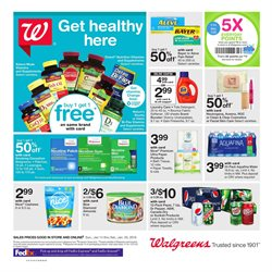 Walgreens deals in the Houston TX weekly ad
