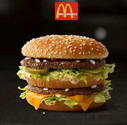 Restaurants deals in the McDonald's weekly ad in Dallas TX