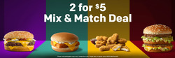 Restaurants deals in the McDonald's weekly ad in Johnstown PA