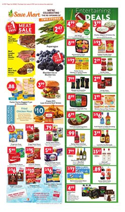 Save Mart deals in the Bakersfield CA weekly ad