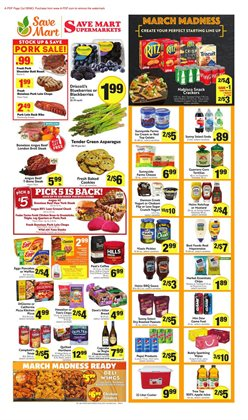 Save Mart deals in the Fresno CA weekly ad