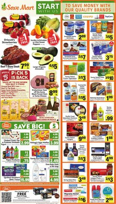 Grocery & Drug deals in the Save Mart catalog ( Expires today)
