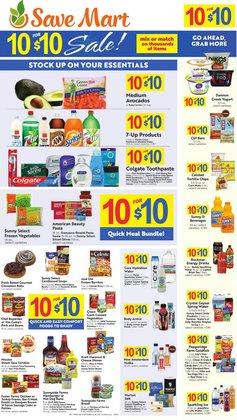 Grocery & Drug deals in the Save Mart catalog ( 4 days left)