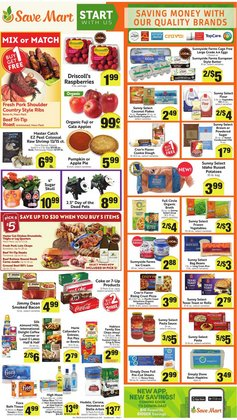 Grocery & Drug deals in the Save Mart catalog ( Expires tomorrow)