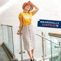 Department Stores deals in the Marshalls weekly ad in Charlottesville VA