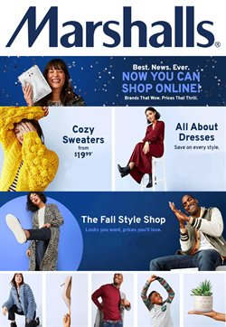 Marshalls deals in the Houston TX weekly ad