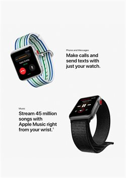 Music deals in the Apple weekly ad in New York