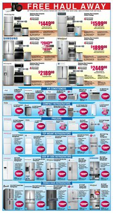 Refrigerators deals in the BrandsMart USA weekly ad in Acworth GA
