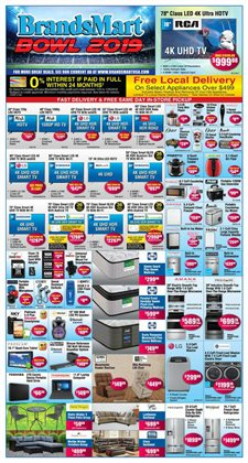 TV deals in the BrandsMart USA weekly ad in Stone Mountain GA