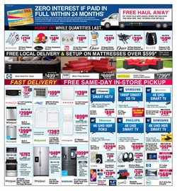 BrandsMart USA deals in the Pompano Beach FL weekly ad