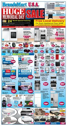 Electronics & Office Supplies deals in the BrandsMart USA weekly ad in Miami FL