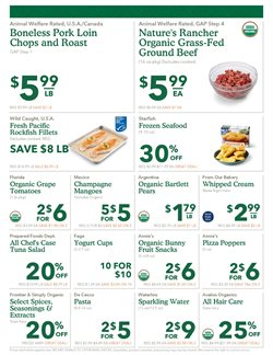 Pizza deals in the Whole Foods Market weekly ad in New York