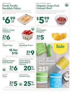 Pasta deals in the Whole Foods Market weekly ad in New York