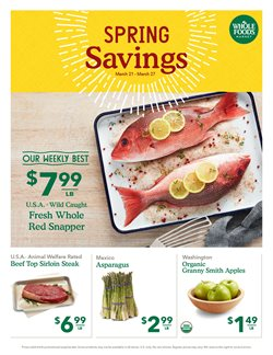 Whole Foods Market deals in the Baton Rouge LA weekly ad