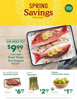 Whole Foods Market deals in the Lansing MI weekly ad