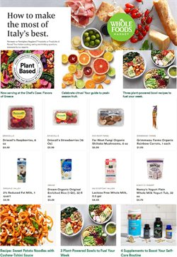 Grocery & Drug offers in the Whole Foods Market catalogue in Naperville IL ( Expires tomorrow )