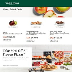 Whole Foods Market deals in the Whole Foods Market catalog ( Expires today)