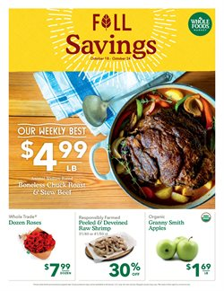 Grocery & Drug deals in the Whole Foods Market weekly ad in Flushing NY