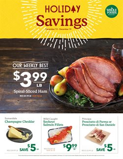Whole Foods Market deals in the Chicago IL weekly ad