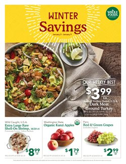 Lasagna deals in the Whole Foods Market weekly ad in Sterling VA