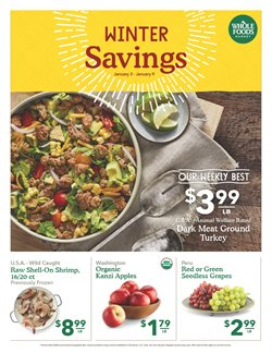 Pizza deals in the Whole Foods Market weekly ad in Dallas TX
