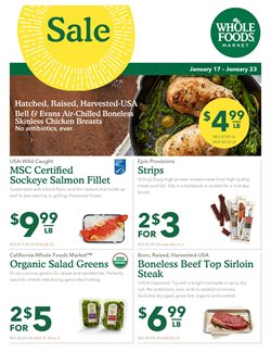 Whole Foods Market deals in the Jacksonville FL weekly ad