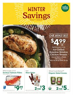 Whole Foods Market deals in the Little Rock AR weekly ad