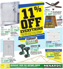 Tools & Hardware offers in the Menards catalogue in Green Bay WI ( Published today )