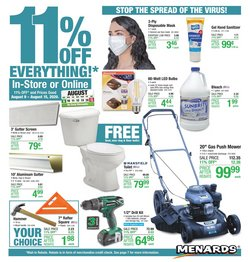 Tools & Hardware offers in the Menards catalogue in Owensboro KY ( Published today )