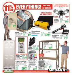 Tools & Hardware offers in the Menards catalogue in Anderson IN ( 2 days ago )