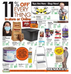 Menards catalog ( Published today)