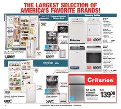 Refrigerators deals in Menards
