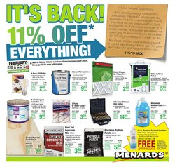 Tools & Hardware offers in the Menards catalogue in Evanston IL ( Expires tomorrow )