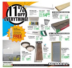 Menards catalogue ( Expires today )