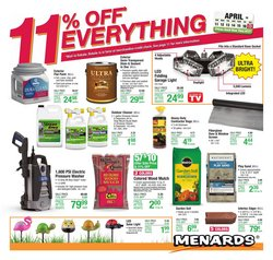 Menards catalogue ( Published today )