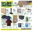 Menards catalogue ( 2 days left )