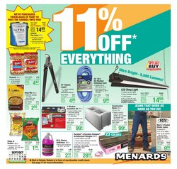 Tools & Hardware deals in the Menards catalog ( 4 days left)
