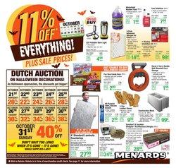 Menards catalog ( 4 days left)