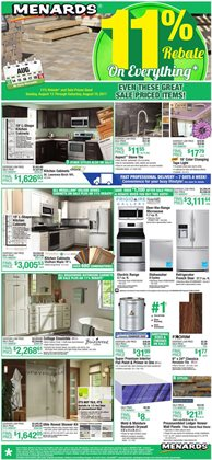 Menards deals in the Indianapolis IN weekly ad