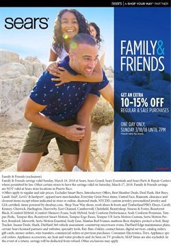 Sears deals in the Yorba Linda CA weekly ad