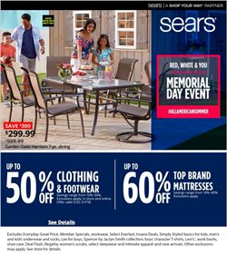 Department Stores deals in the Sears weekly ad in Pomona CA
