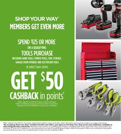 Sears deals in the Kent WA weekly ad