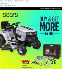 Department Stores deals in the Sears weekly ad in Acworth GA