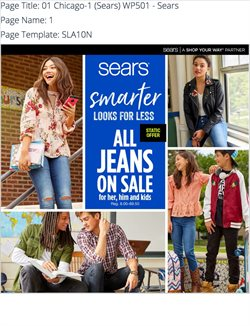 Department Stores deals in the Sears weekly ad in Fontana CA