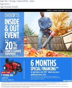Sears deals in the Acworth GA weekly ad