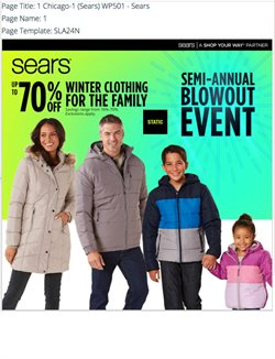 Department Stores deals in the Sears weekly ad in Federal Way WA