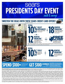 Sears deals in the Olympia WA weekly ad