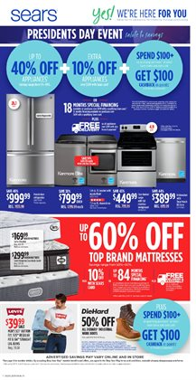 Sears deals in the Jacksonville FL weekly ad