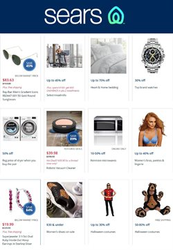 Department Stores deals in the Sears weekly ad in Pontiac MI
