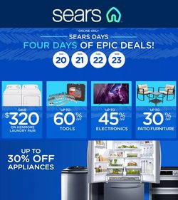 Department Stores deals in the Sears catalog ( Published today)